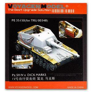 "Voyager model metal etching sheet PE35150 Pz.Sfl IVa 10.5cm self propelled artillery ""Dick Marx"" (trumpeter)"