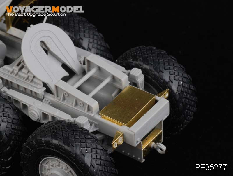 Foyager PE35277 MAZ-537G Medium metal etching for heavy off-road traction truck