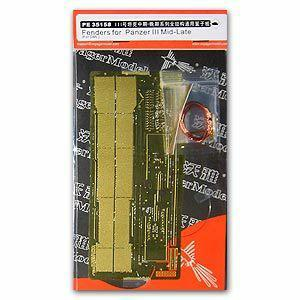 Voyager model metal etching sheet PE35158 Metal etched parts for the Modification of General purpose Full-Structure Wing Plate of Combat vehicle
