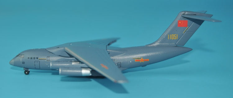 PandaModel China Air Force PLAAF Y-20 11051 / 11052 Final version 1:400