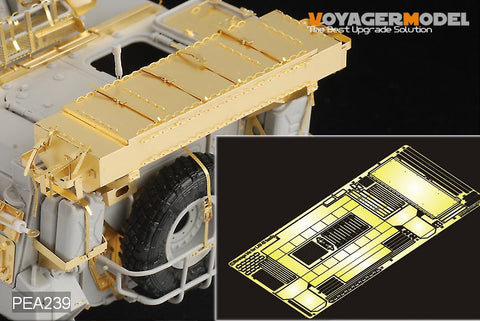 Voyager pea239 laver - iii wheeled armored vehicle storage box upgrade metal etcher