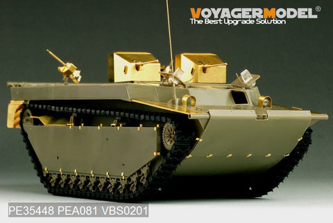 "Voyager model metal etching sheet PE35448 LVT-4 ""buffalo"" amphibious armored vehicles upgraded with etched parts (AFV)"