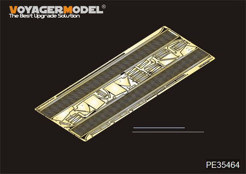 Voyager PE35464 World War II German new structure war car Rhine metal shaped wing plate for metal etchant