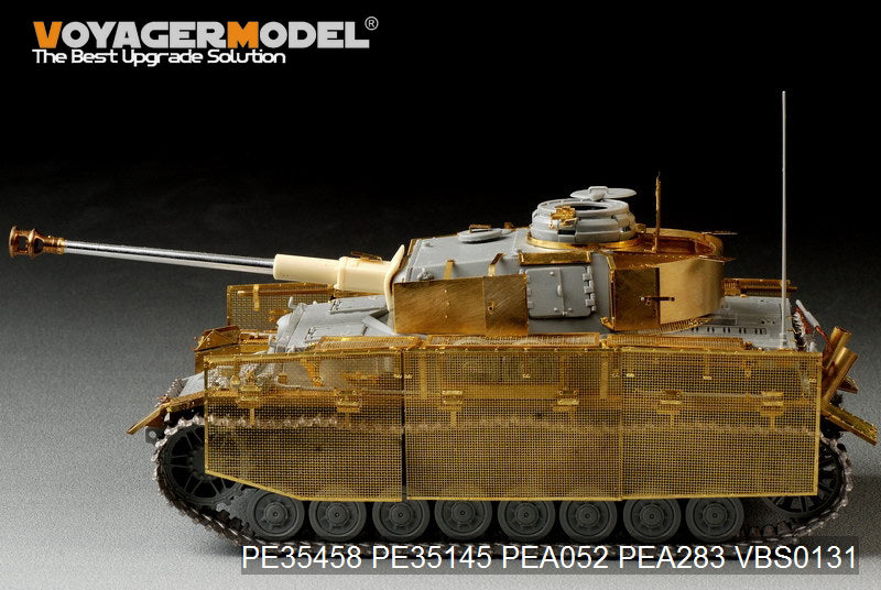 Voyager PE35458 Base metal etching for 4 combat vehicle J late upgrade