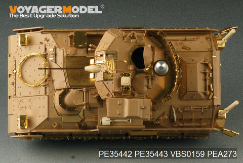 "Voyager model metal etching sheet PE35442 Etch for upgrading M2A2 ODS ""Bradley"" infantry fighting vehicles (T)"