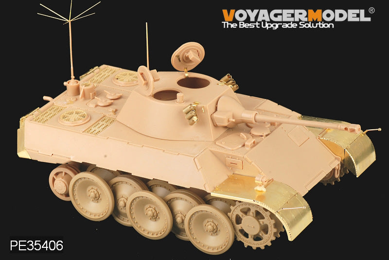 "Voyager PE35406 VK16.02 ""leopard"" plans to upgrade the light chariot with metal etching parts (HB)."