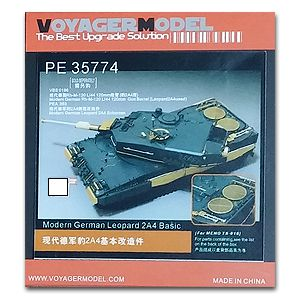 Metal etching for Voyager model metal etching sheet PE35774 Modern Leopard 2A4 main Battle Tank upgrade (M)