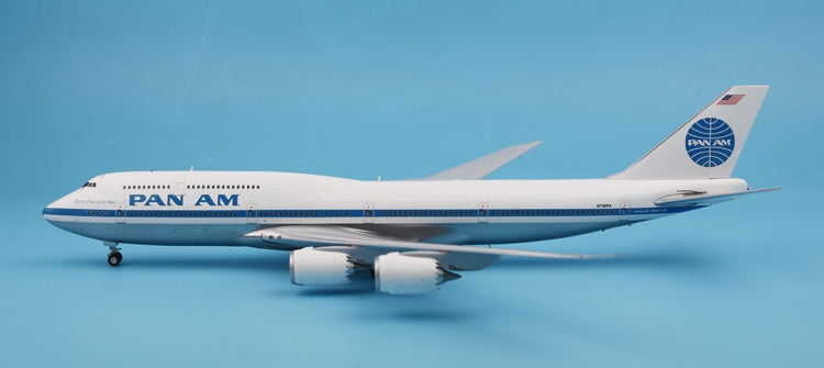 Special: JC Wings XX2856 Pan Am B747-8N748PA 1:200
