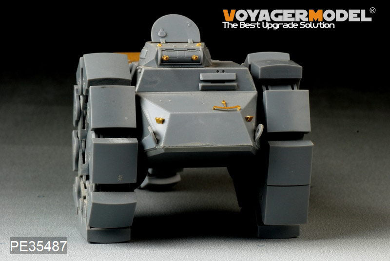 Coyager PE35487 Eckert Vs.Kfz .617 Metal etching parts for upgrading of armoured mine clearance vehicles