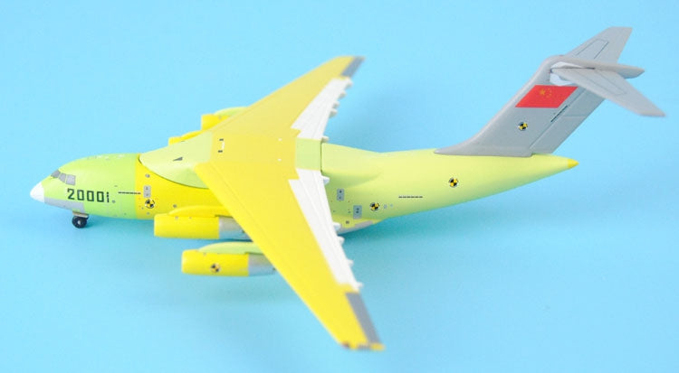PandaModel China Air Force Y-20 20001 flight prototype 1:400