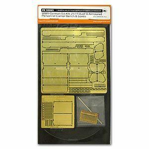 Voyager model metal etching sheet PE35263 Sd.Kfz.251 / 1 Ausf.D Etch for internal renovation of armoured vehicles