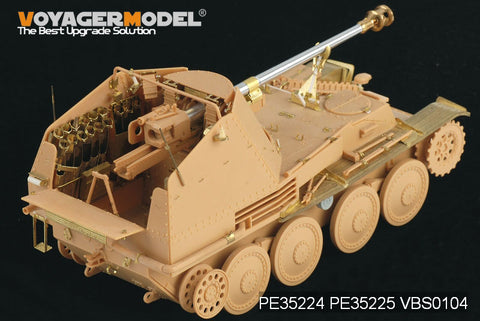 Voyager model metal etching sheet PE35225 mink IIIM self propelled artillery fender upgraded with metal etch