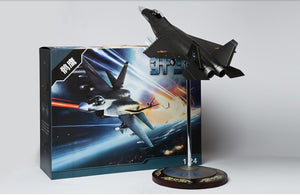 KNL Hobby diecast model The latest China fighter 56 cm J-31 fighter model J31 Falcon Eagle aircraft model 1:24 China airforce CPLA
