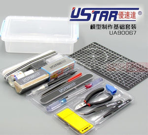 U-Star Making model tools kit upgrade version UA90067 for Gundam Tamiya Trumpeter Hasegawa Academy Meng static building model