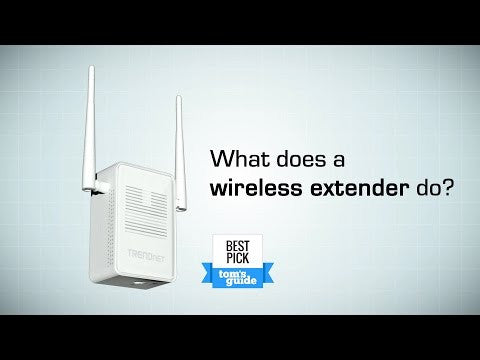 What does a Wireless Extender do?