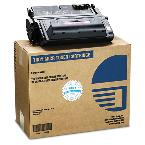 0281118001 38a Compatible Micr Toner Secure, 13,500 Page-Yield, Black