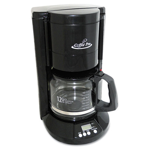 Home/office 12-Cup Coffee Maker, Black