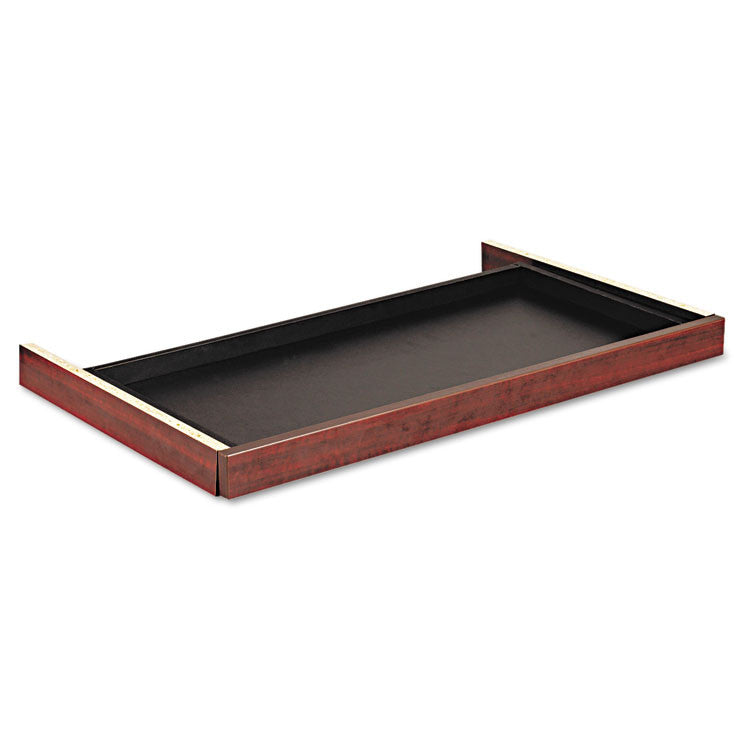 Alera Valencia Series Center Drawer, 31w X 15d X 2h, Mahogany