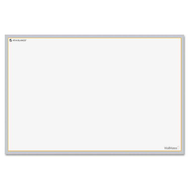 Wallmates Self-Adhesive Dry Erase Writing Surface, 36 X 24