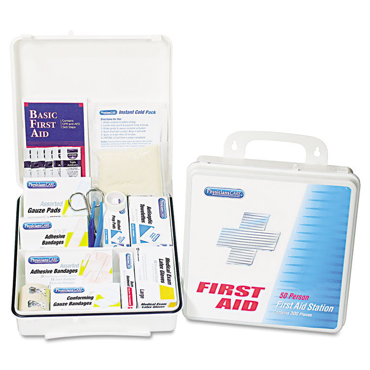 Office First Aid Kit, For Up To 75 People, 312 Pieces/kit