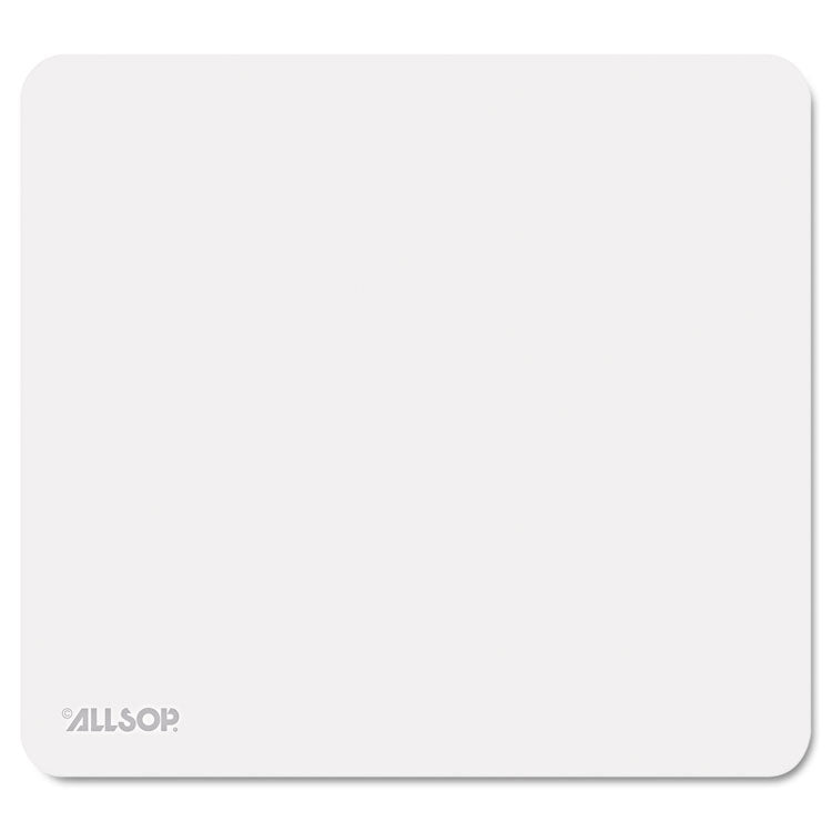 "Accutrack Slimline Mouse Pad, Silver, 8 3/4"" X 8"""
