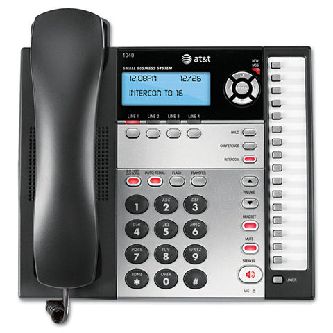 1040 Corded Four-Line Expandable Telephone
