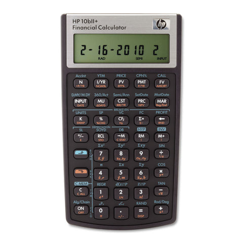 10bii+ Financial Calculator, 12-Digit Lcd