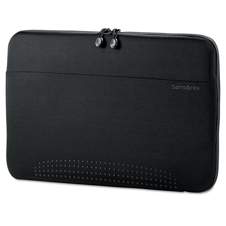 "15.6"" Aramon Laptop Sleeve, Neoprene, 15-3/4 X 1 X 10-1/2, Black"