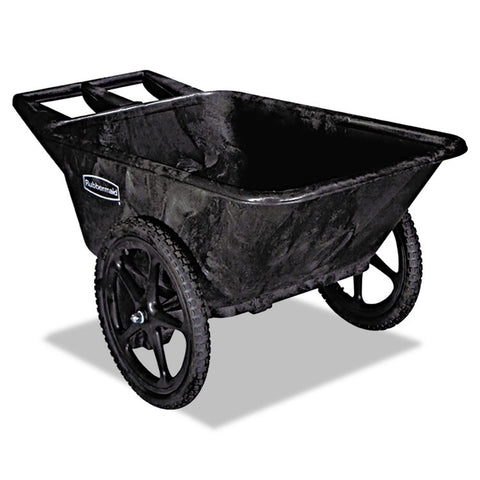 Big Wheel Agriculture Cart, 300-Lb Cap, 32-3/4 X 58 X 28-1/4, Black