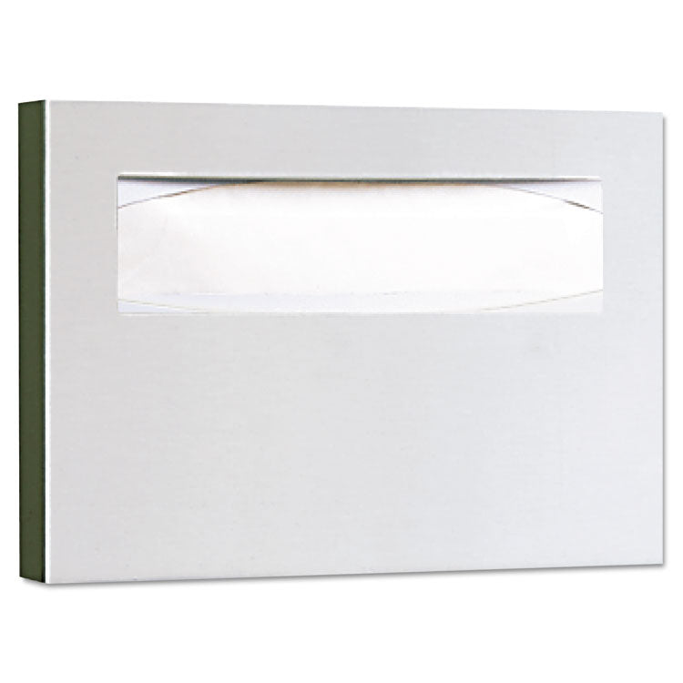 Stainless Steel Toilet Seat Cover Dispenser, 15 3/4 X 2 X 11, Satin Finish
