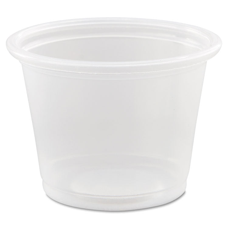 Conex Complements Portion/medicine Cups, 1oz, Clear, 125/bag, 20 Bags/carton