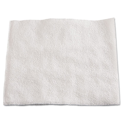 "1/4-Fold Lunch Napkins, 1-Ply, 13"" X 11"", White, 6000/carton"