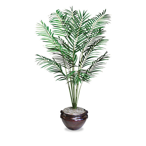 Artificial Areca Palm Tree, 6-Ft. Overall Height