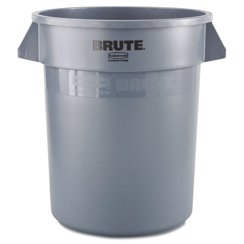 Brute Round Container, 20gal, Gray