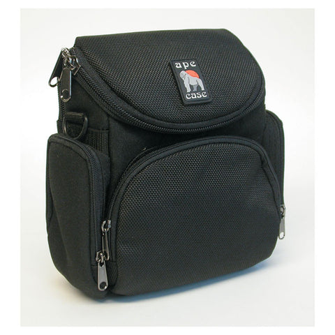 Camcorder/digital Camera Case, Ballistic Nylon, 7 1/4 X 2 X 5, Black