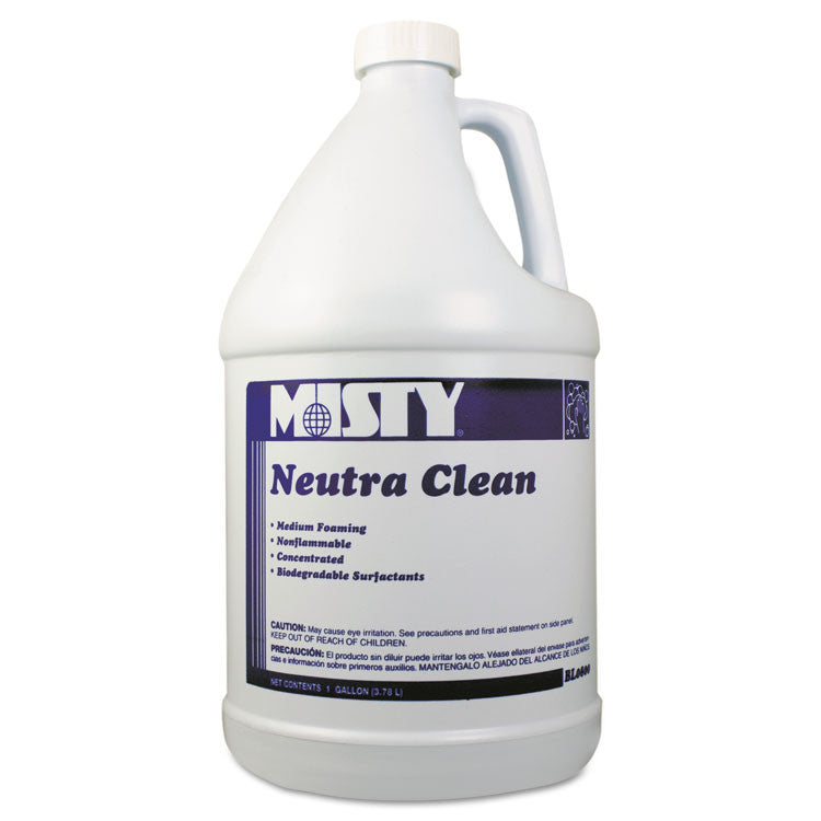 Neutra Clean Floor Cleaner, Fresh Scent, 1gal Bottle, 4/carton