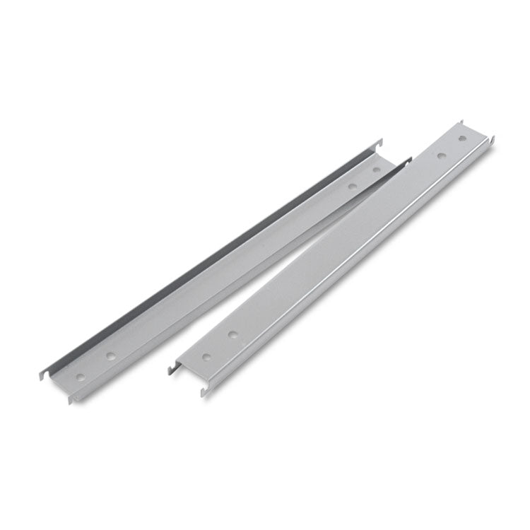 "Three Row Hangrails For 42"" Files, Aluminum, 2/pack"