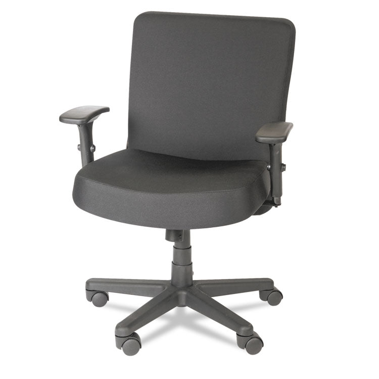 Xl Series Big & Tall Mid-Back Task Chair, Black