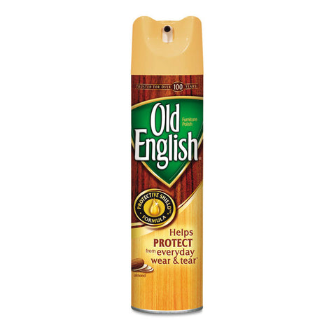 Furniture Polish, Almond Scent, 12.5oz Aerosol