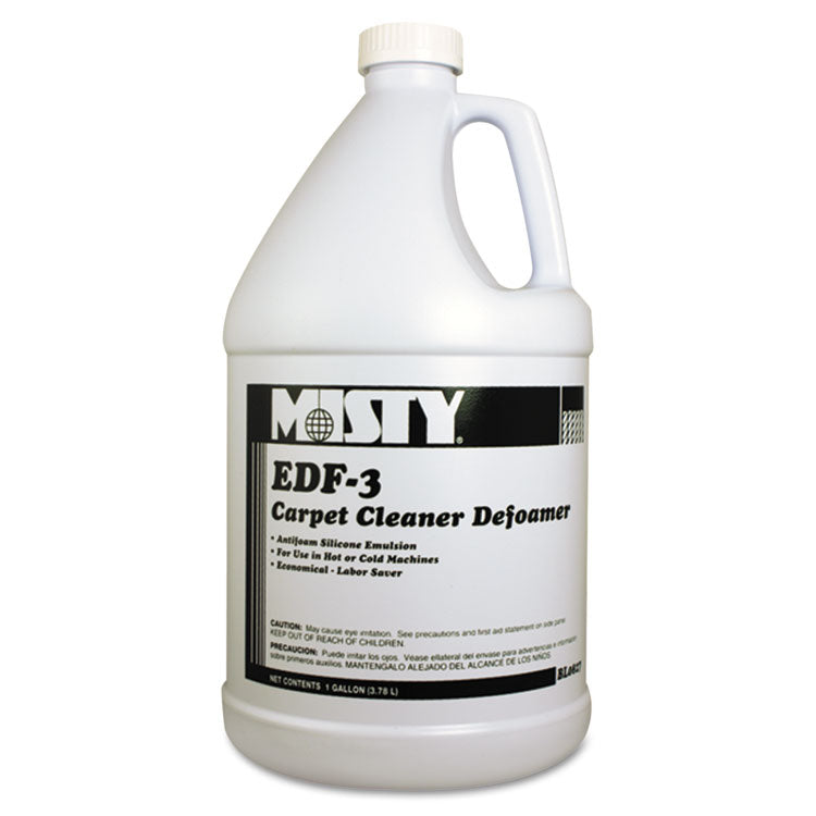 Edf-3 Carpet Cleaner Defoamer, 1 Gal. Bottle, 4/carton