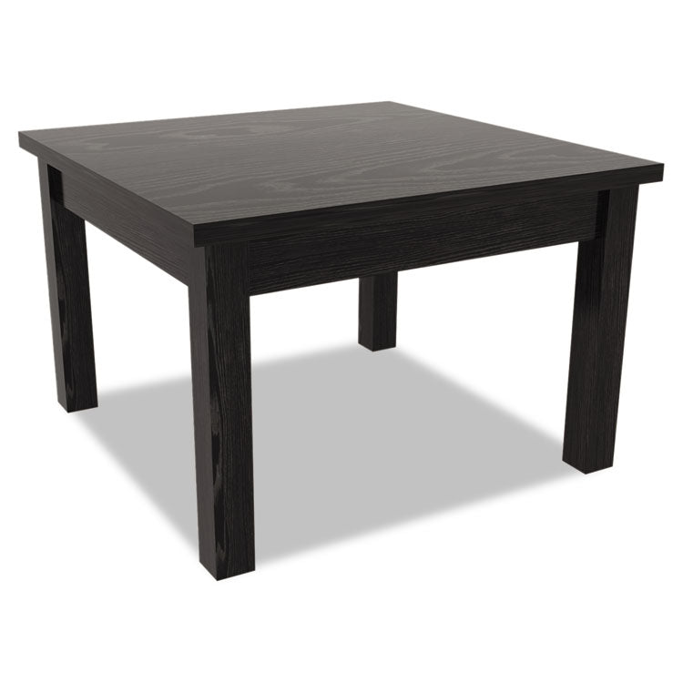 Alera Valencia Series Occasional Table, Square, 23-5/8 X 23-5/8 X 20-3/8, Black