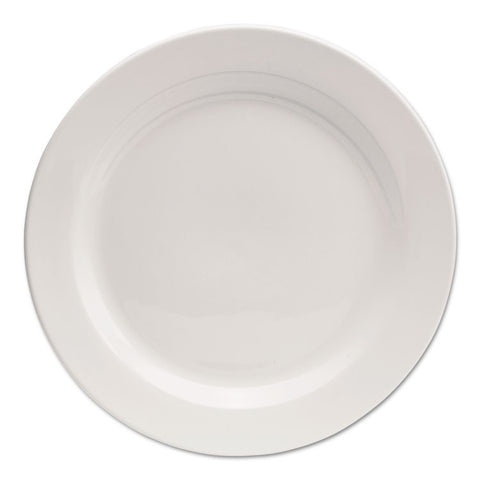 "Chef's Table Fine Porcelain Round Dinnerware, Salad Plate, 8"" Dia, White, 8/box"