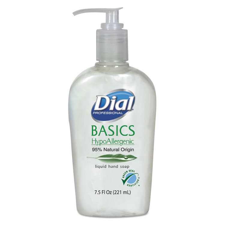 Basics Liquid Hand Soap, 7.5 Oz, Fresh Floral