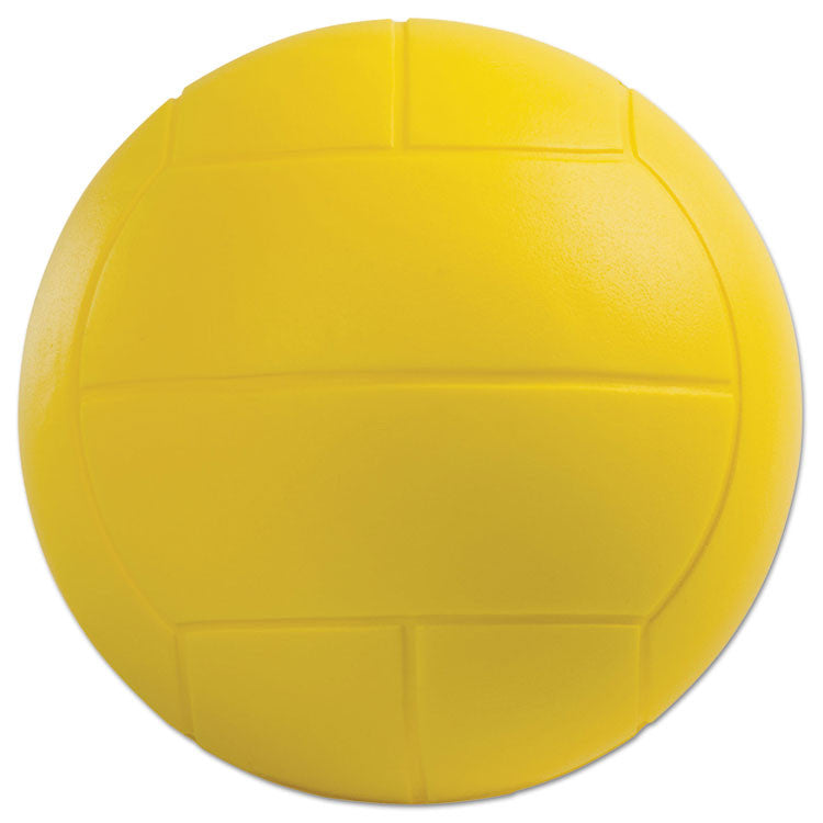 Coated Foam Sport Ball, Volleyball, Yellow