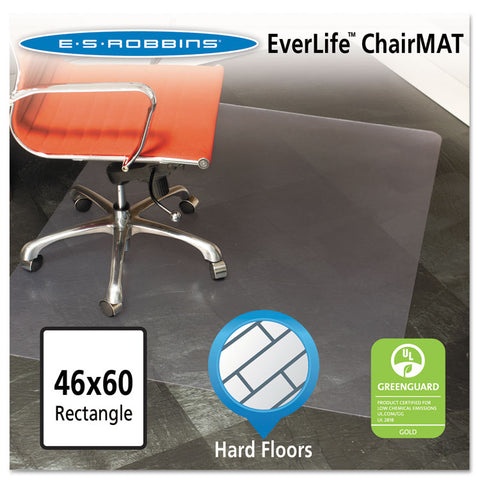 46x60 Rectangle Chair Mat, Multi-Task Series For Hard Floors, Heavier Use