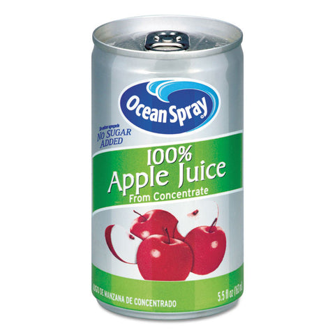 100% Juice, Apple, 5.5 Oz Can
