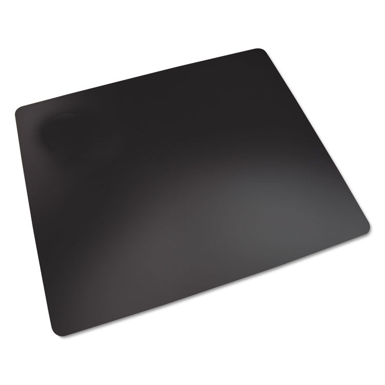 Rhinolin Ii Desk Pad With Microban, 36 X 20, Black