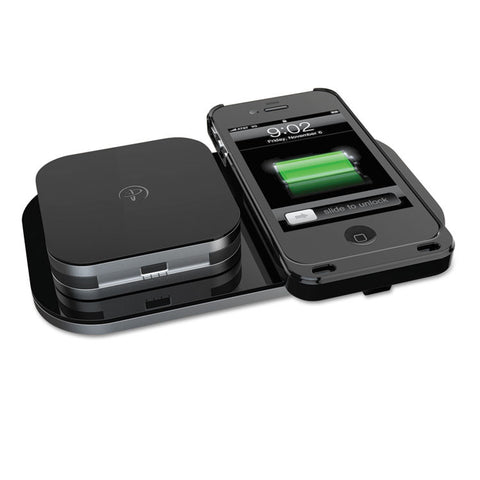 24-Hour Powermat Kit For Iphone 4/4s,1850 Mah, Black