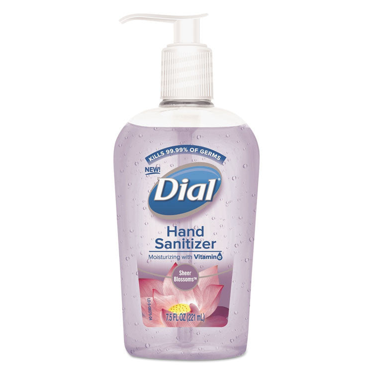 Scented Antibacterial Hand Sanitizer, Sheer Blossoms, 7.5 Oz Bottle, 12/carton