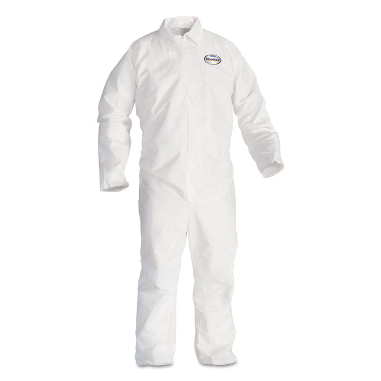 A20 Breathable Particle Protection Coveralls, 3x-Large, White, 20/carton